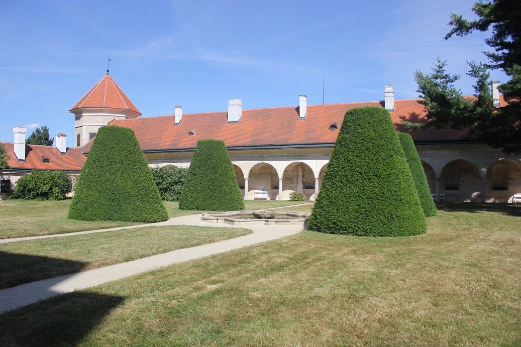chateau, Telc