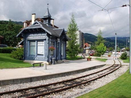 zastávka Saint-Gervais-Le-Fayet