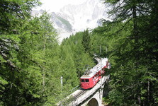 mountain railway