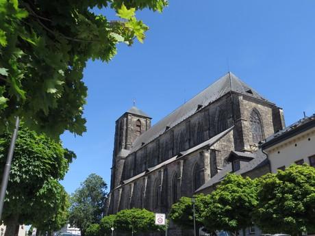 chrám Narození Panny Marie v Turnově