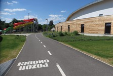 sportovní areál Maškova zahrada v Turnově