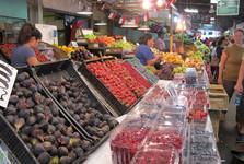 tržnici Feria Municipal La Vega