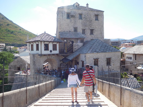 on the Stari Most