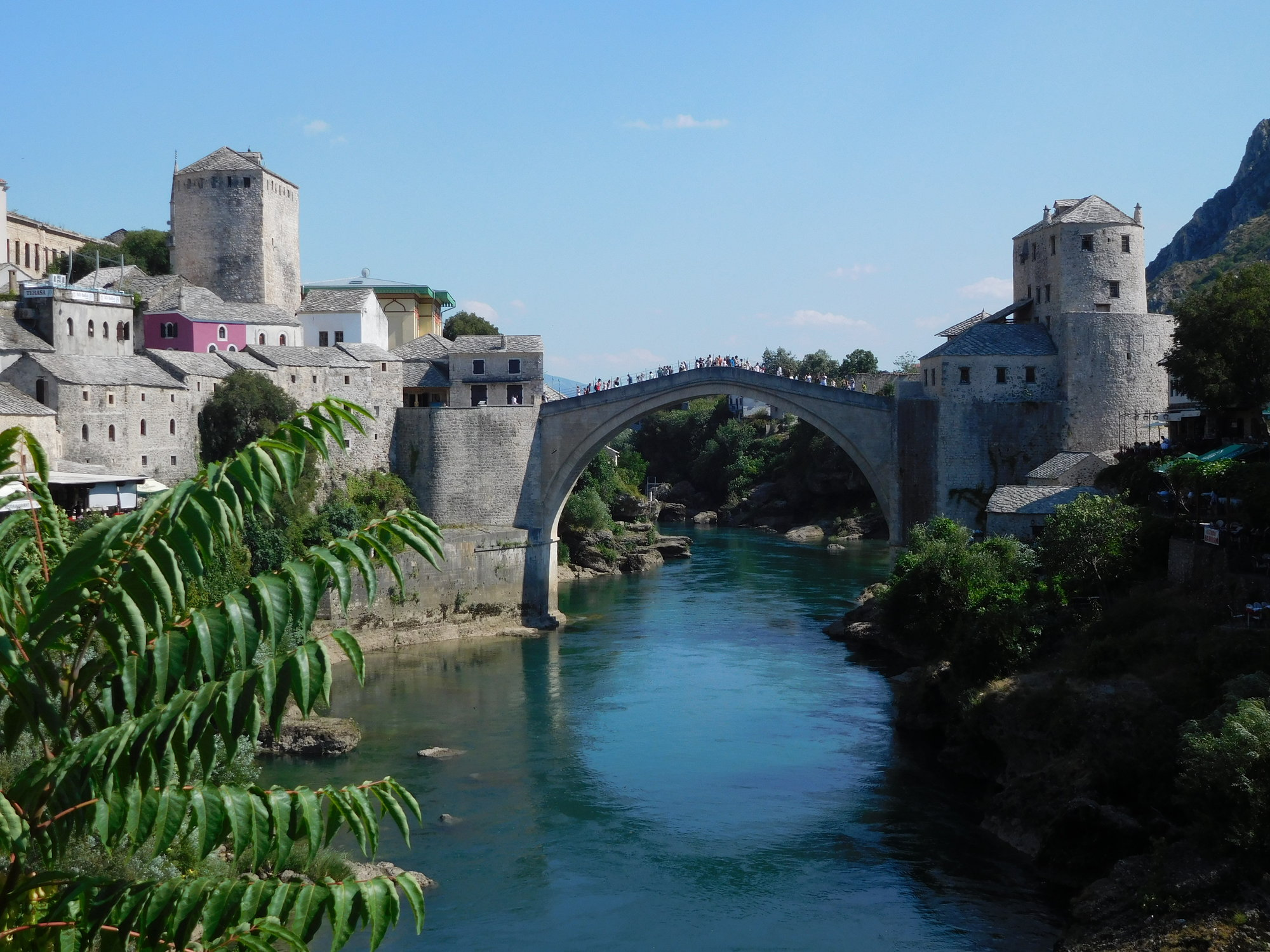 Stari Most and the Neretva river