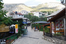 downtown Mostar