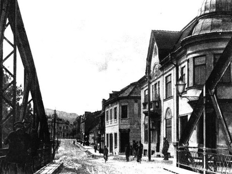 Кисуцкий музей в Чадце - историческая фотография