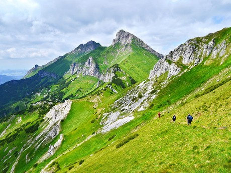 Belianske Tatras –  Havran and Zdiarska Vidla summits