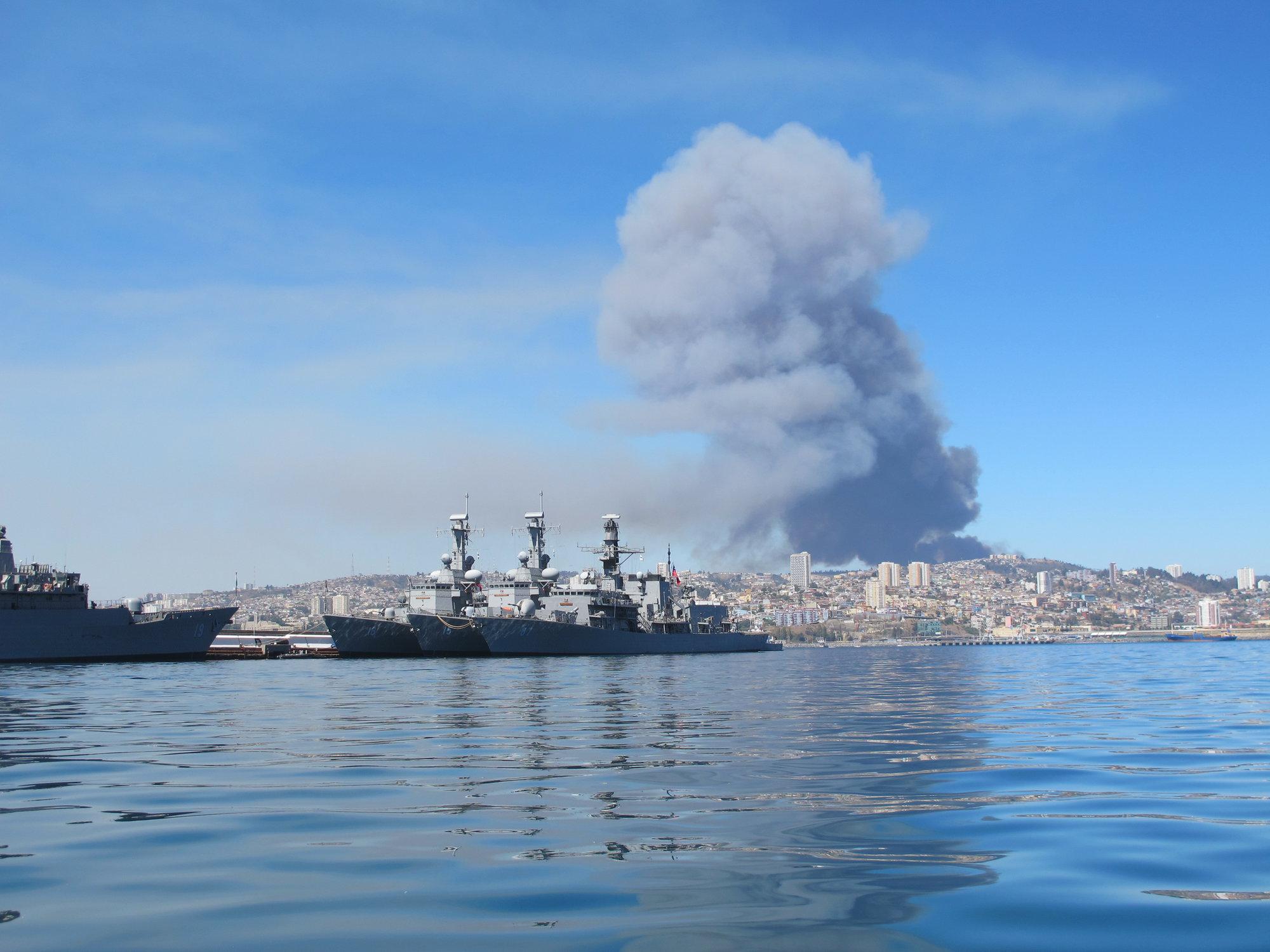 lodě chilské armády