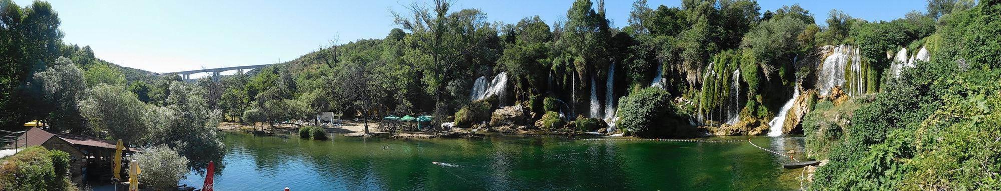 Водопады Кравица