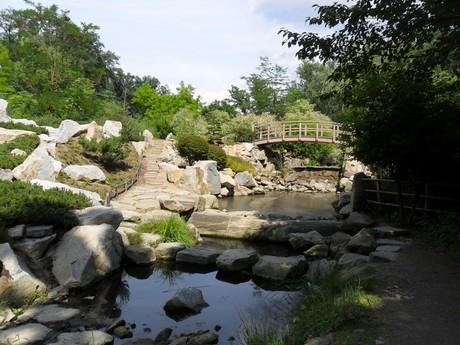 Zoologická záhrada v Zlíne - japonská záhrada
