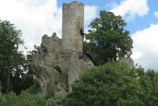 руины замка Фридштейн