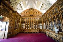 knihovna a její kolekce Shakespeara