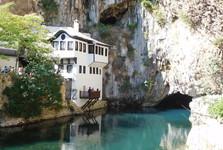 монастырь дервишей и источник реки Буны