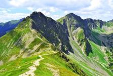 vrchy Ostrý Roháč a Plačlivé