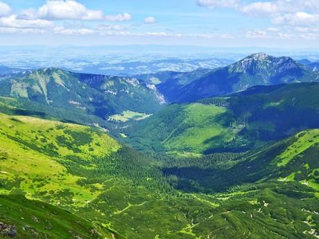 poľská časť Západných Tatier