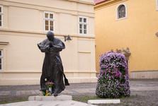 socha papeže Jana Pavla II