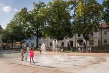 фонтан на Площади Свободы