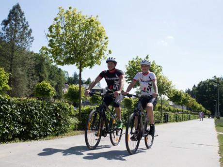 Luhačovice - cyklistika