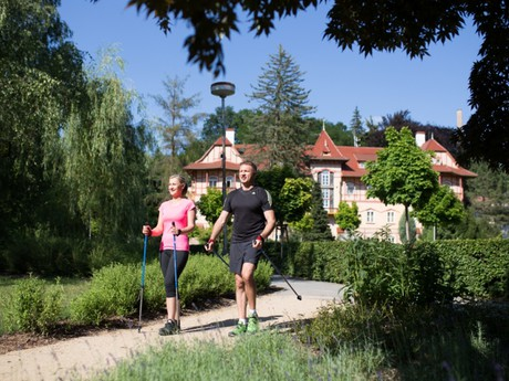 Luhačovice – nordic walking