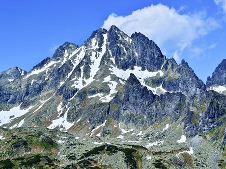 vrch Vysoká (2 547 m n. m.)