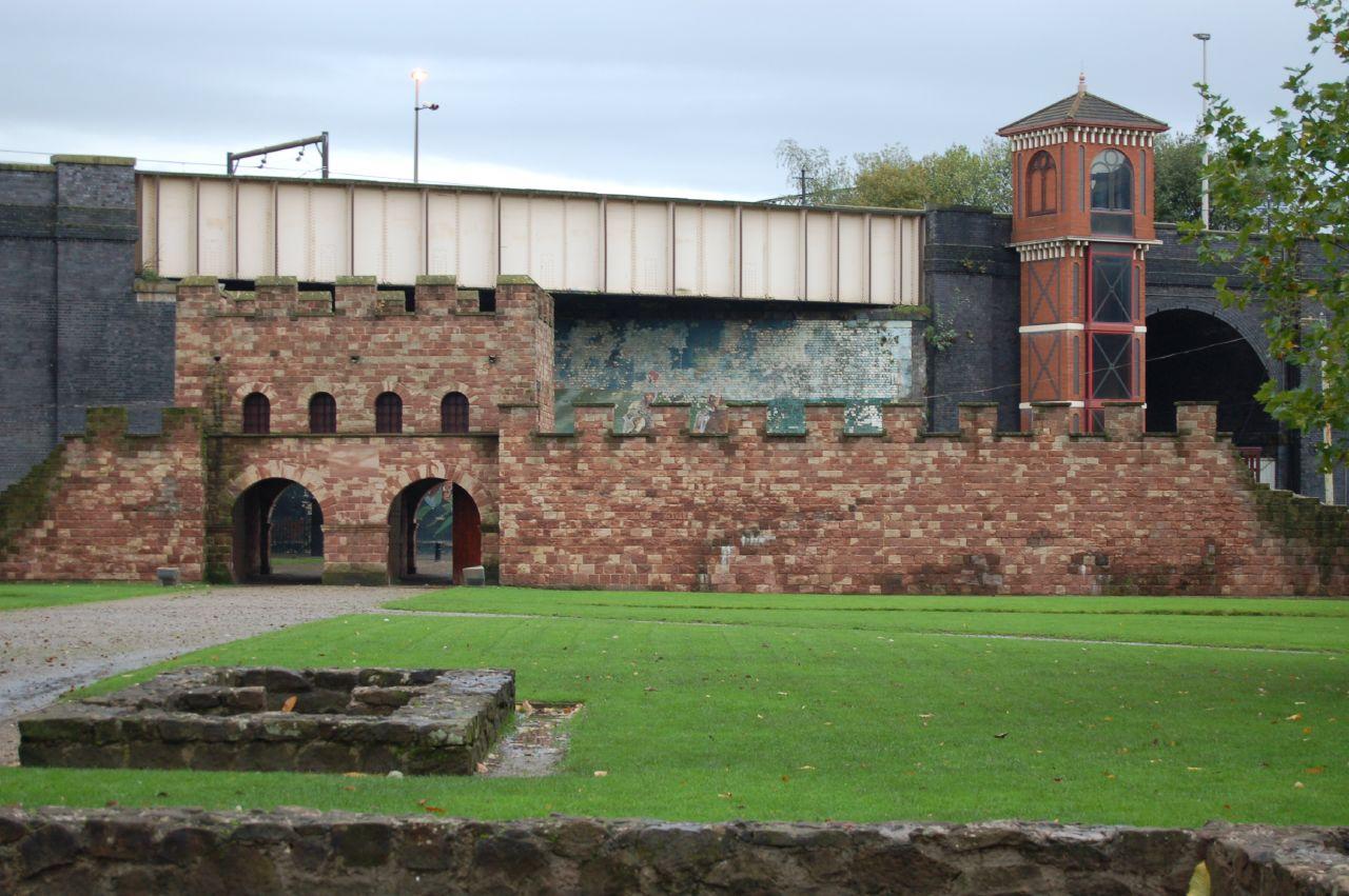 římská pevnost