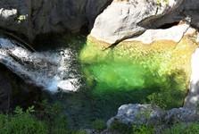 Olympský národní park (Diovy vany)