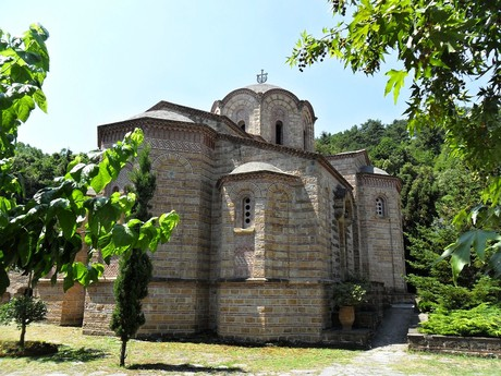 Litochoro - kláštor sv. Dionýza