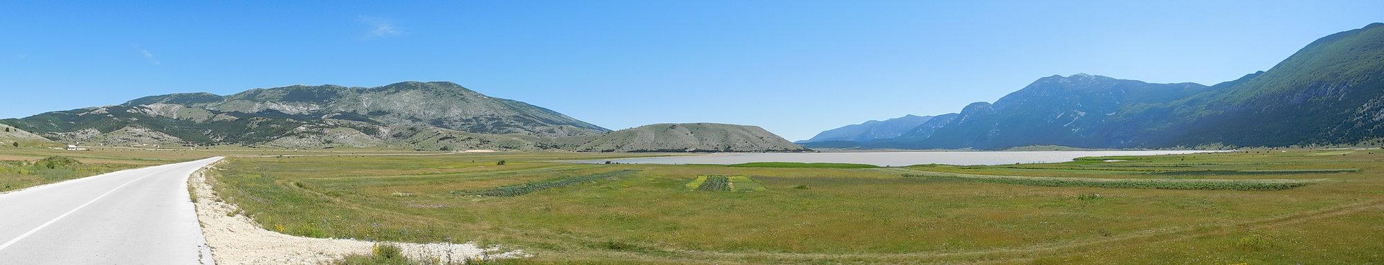 jezero Blidinje – panoráma