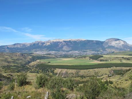 great vista of Coyhaique