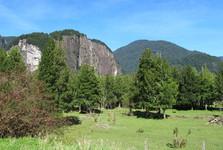 okolí rezervace Nacional Río Simpson