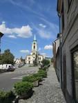 náměstí J. A. Alise s kostelem sv. Vojtěcha