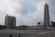 Plaza de la Revolución – pomník José Mártího