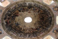 pohled do kupole