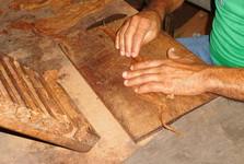ukázka balení doutníku