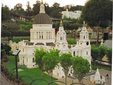 модель лондонского собора Св. Павла