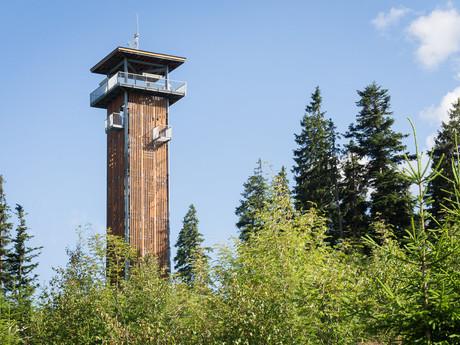 смотровая башня на вершине