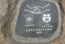 in-line stezka spojuje Frymburk a Lipno nad Vltavou