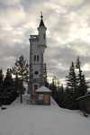 Věžička v lyžařském středisku Mariazeller – Bürgeralpe